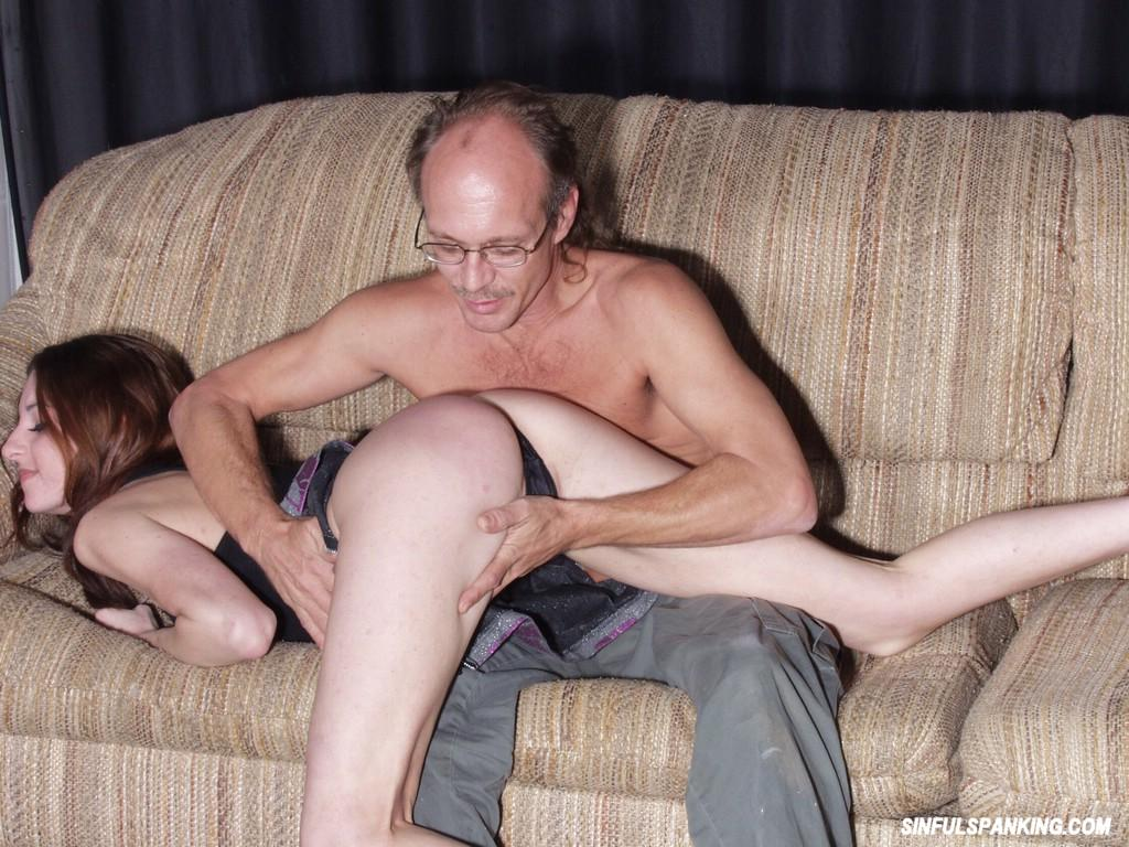 Old Man Spanking Teen Ass 3040-5956