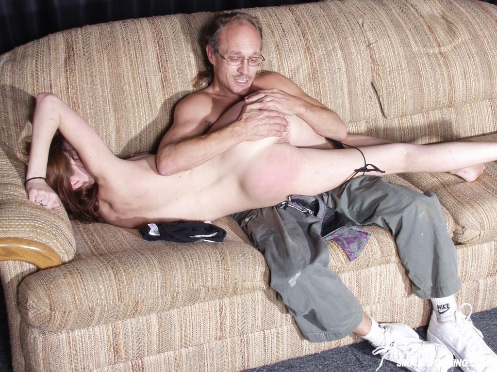 Old Man Spanking Teen Ass 3040-9689
