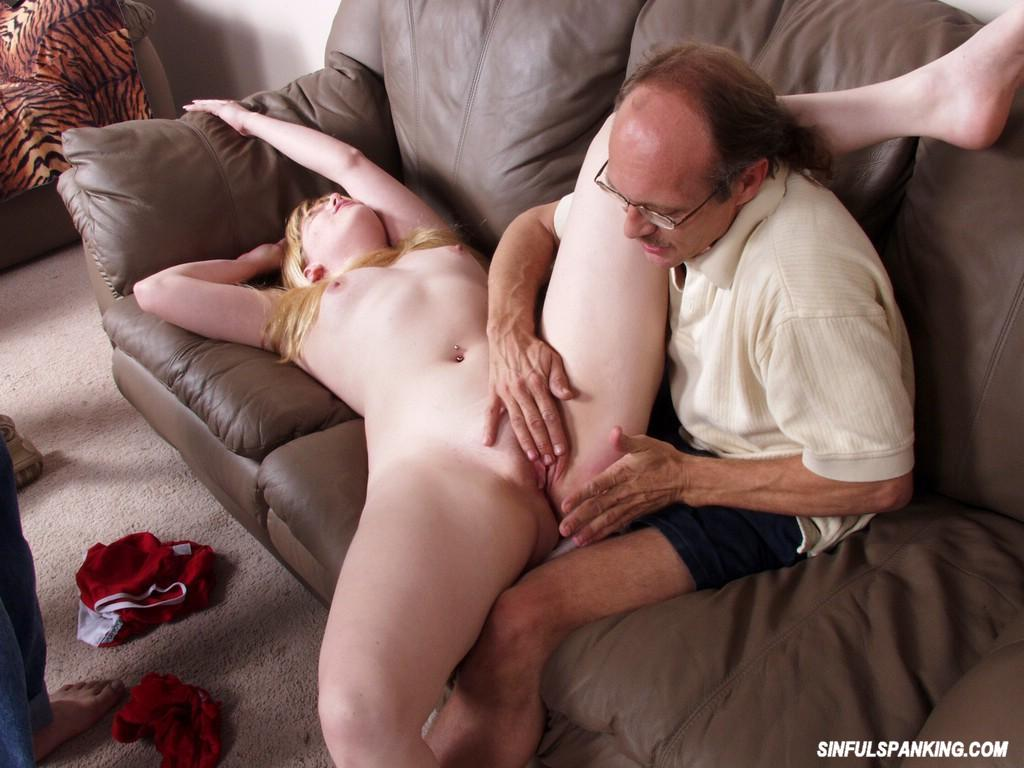 image Blonde slut rough spanked and fucked for robbing a ring