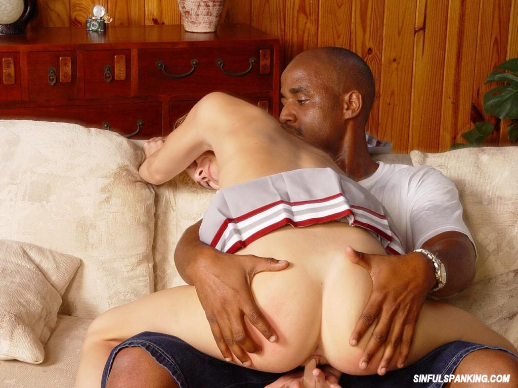 Cheerleader pussy an ass
