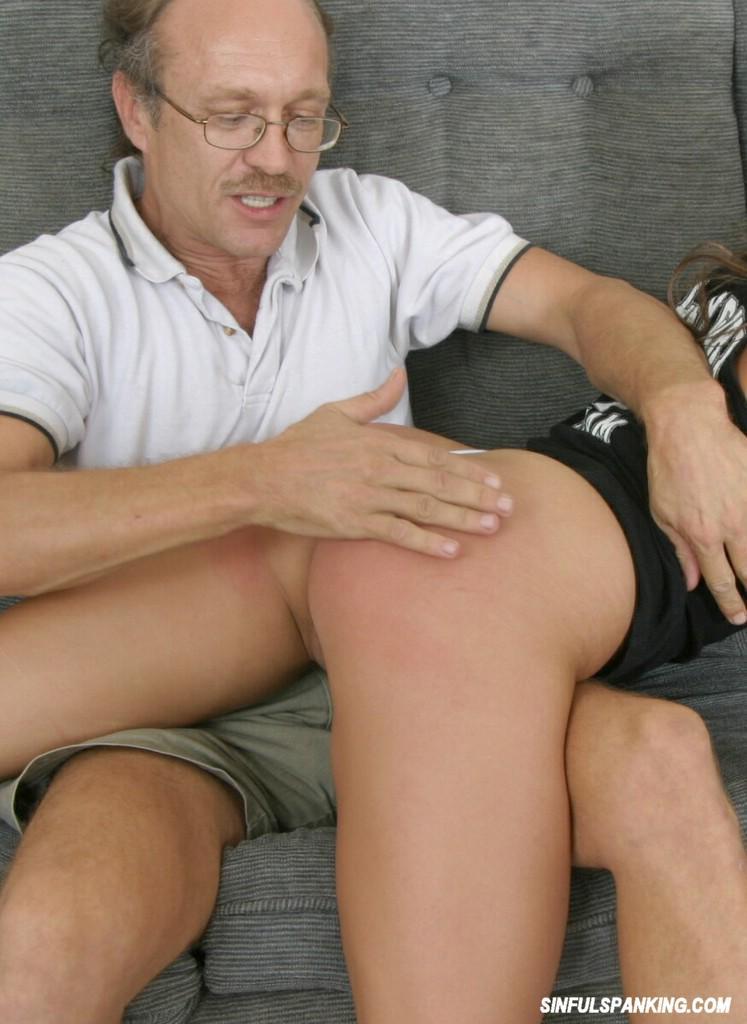 Tushy spank