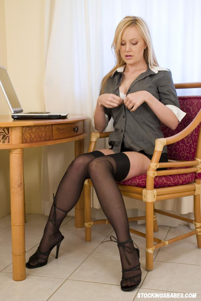 You are Secretary strips naked