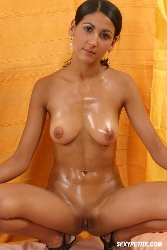 sexy naked girl having an orgasm