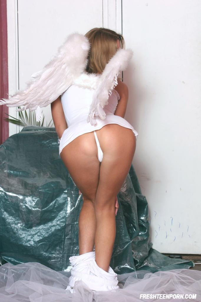 Angel Wings On The Pussy Porn