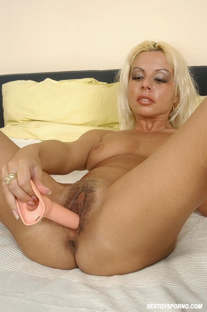 image Riding black dildo blonde anal slut noise