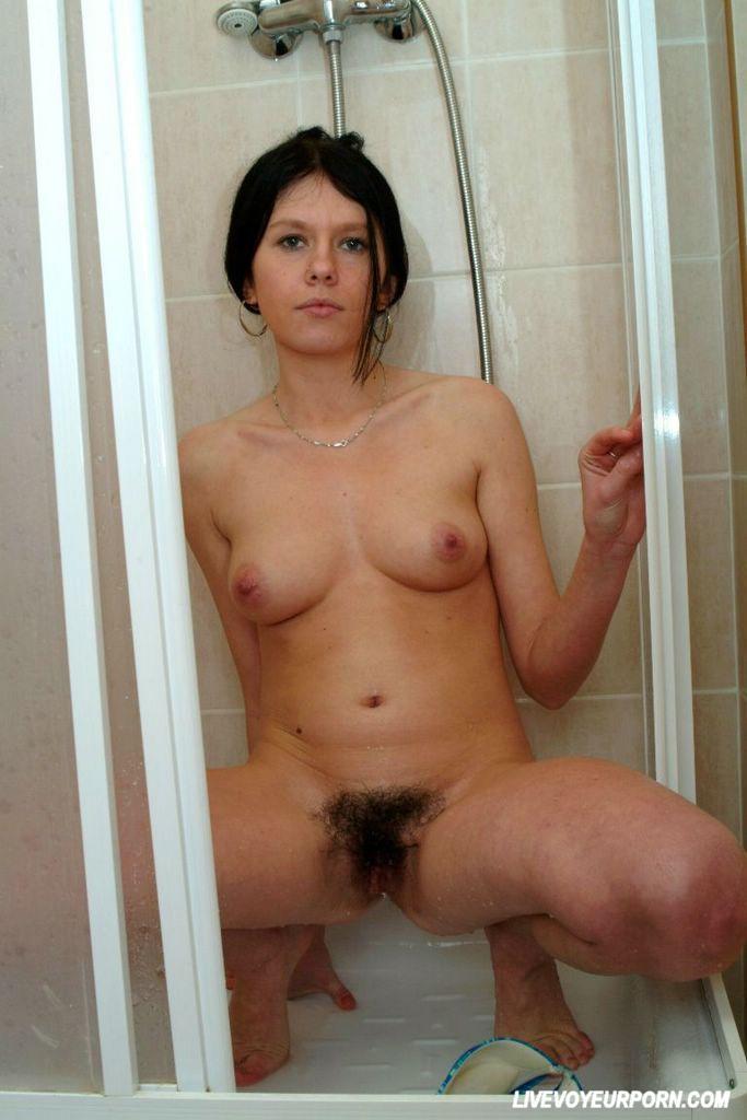 Hairy brunette sex