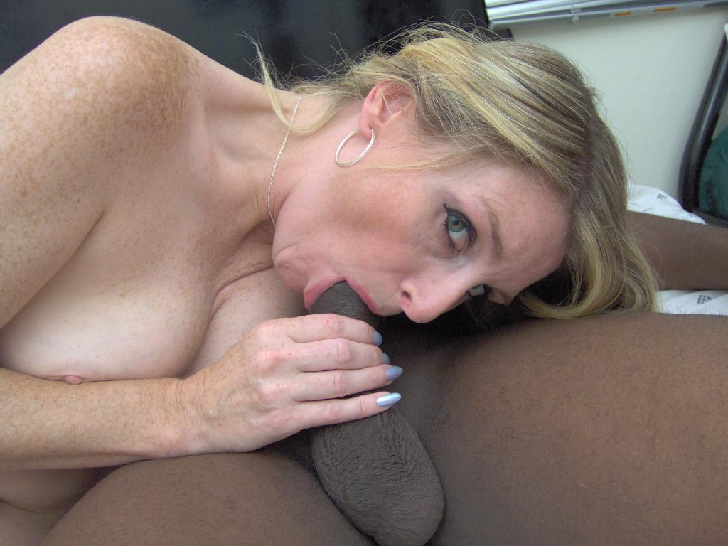 Cheating blonde milf enjoying her 1st bbc 4