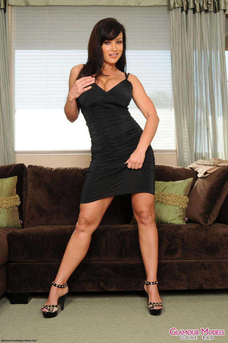 Lisa ann sexy tight dress
