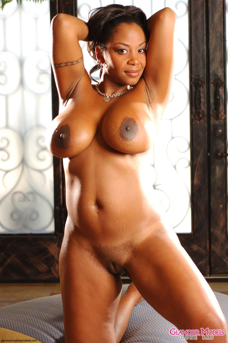 Beautiful black nude models-7544