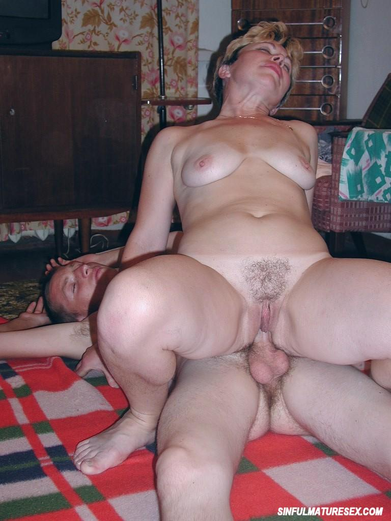 Older guy fucks young blonde 3