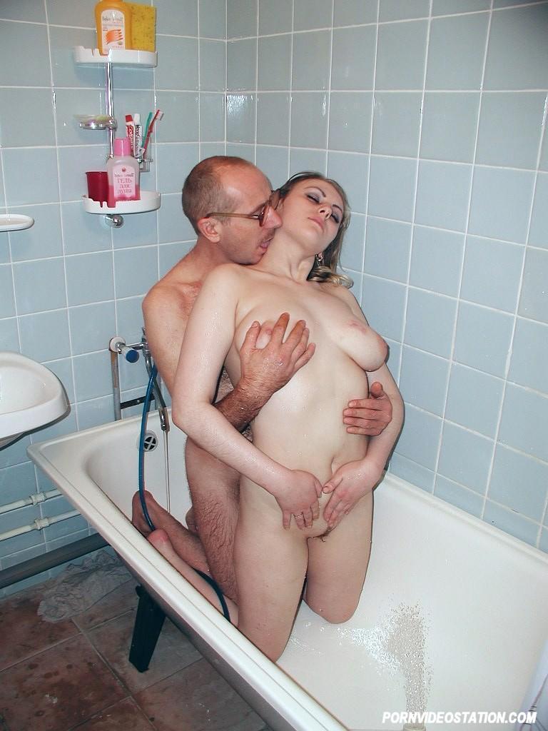 Русский Секс Ванна Домашний