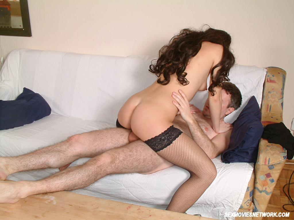 Couple Having Sex In Different Positions On The Couch 5678 -8323