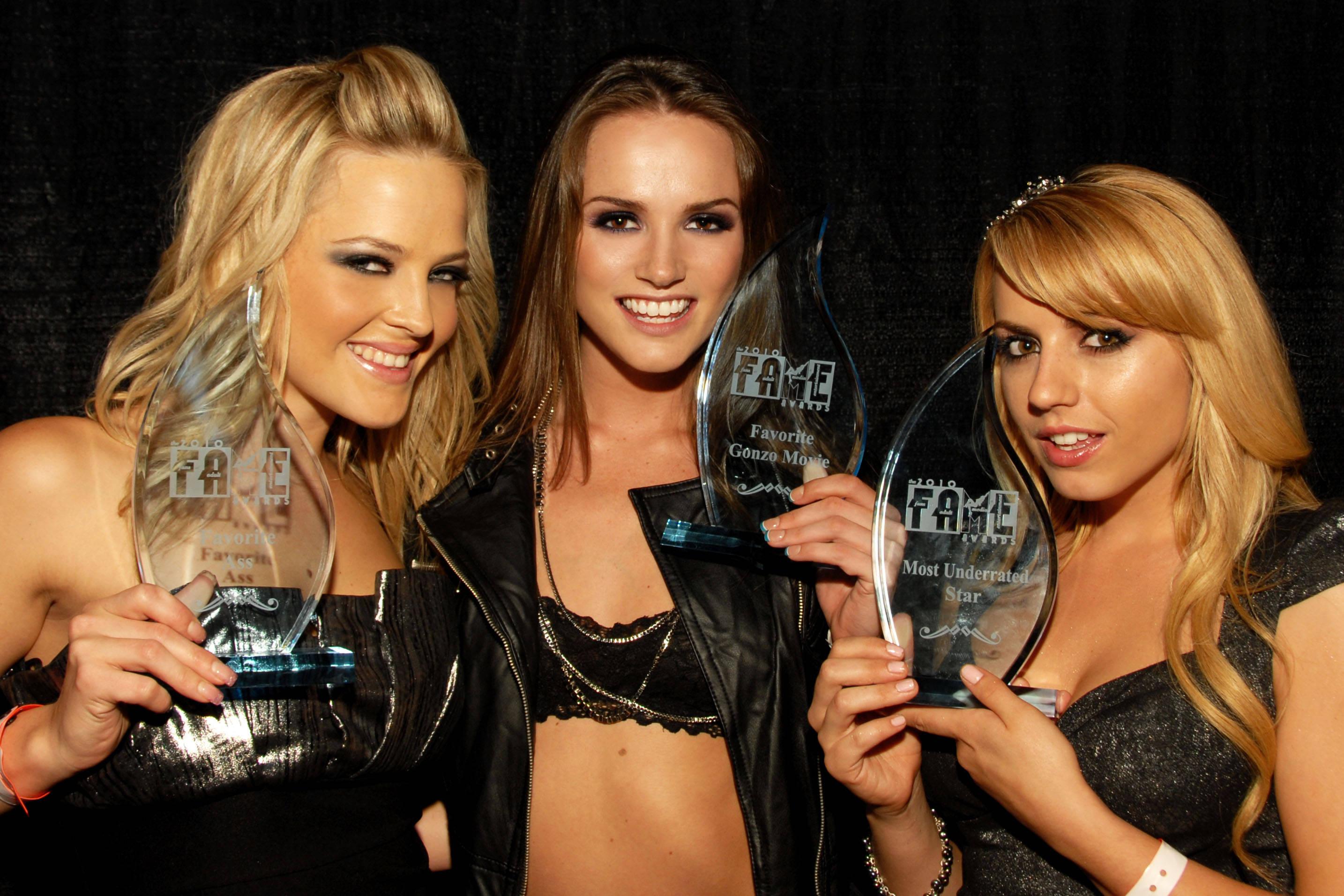 Alexis Texas, Tori Black And Lexi Belle, F.A.M.E. Awards