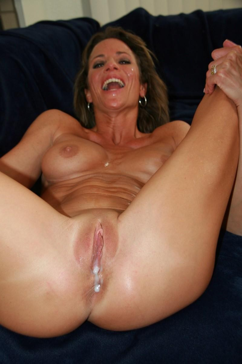 image Blonde stepmom makes a move on her stepson