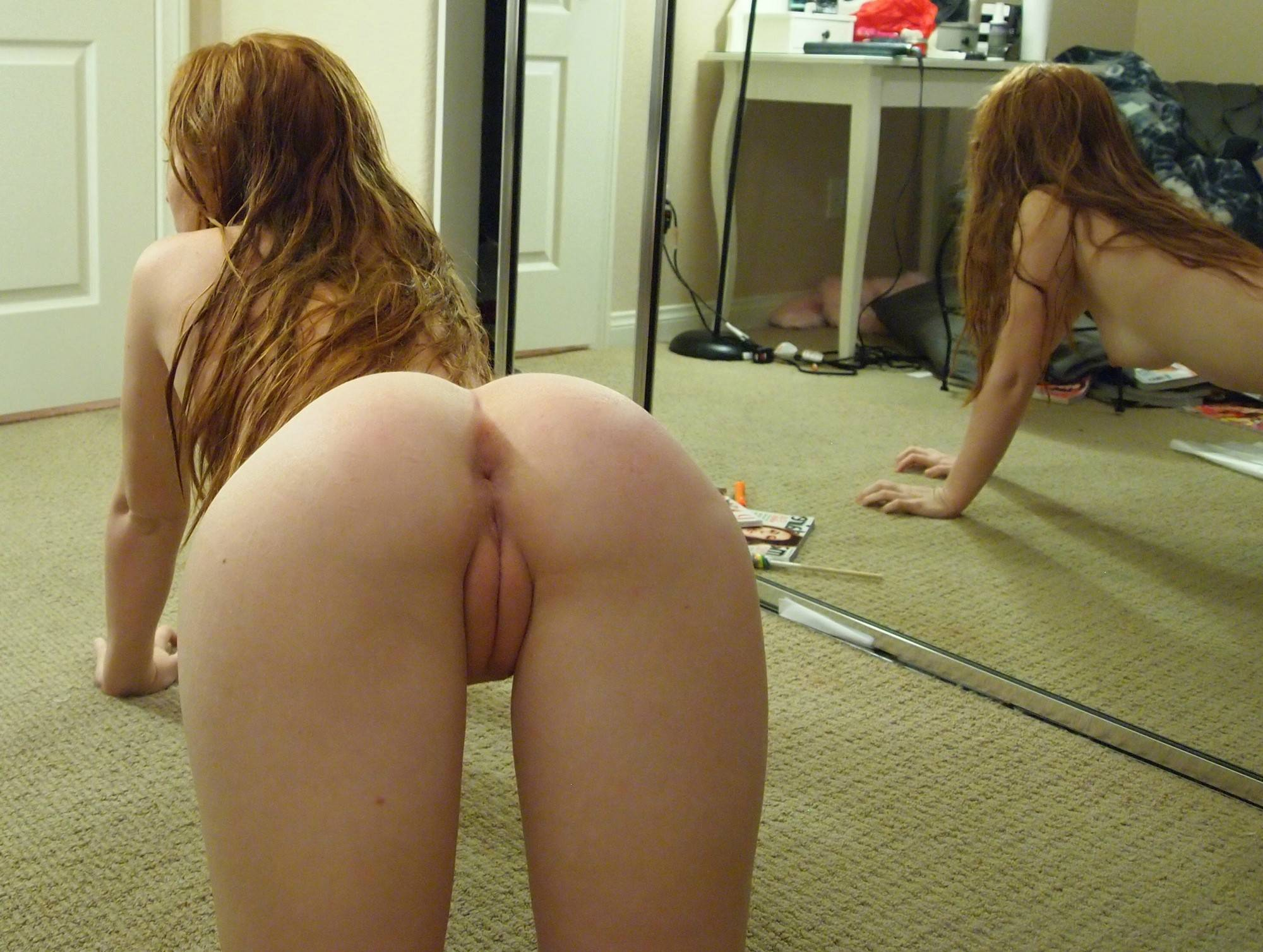 Girl with stunning naked ass hentia movie