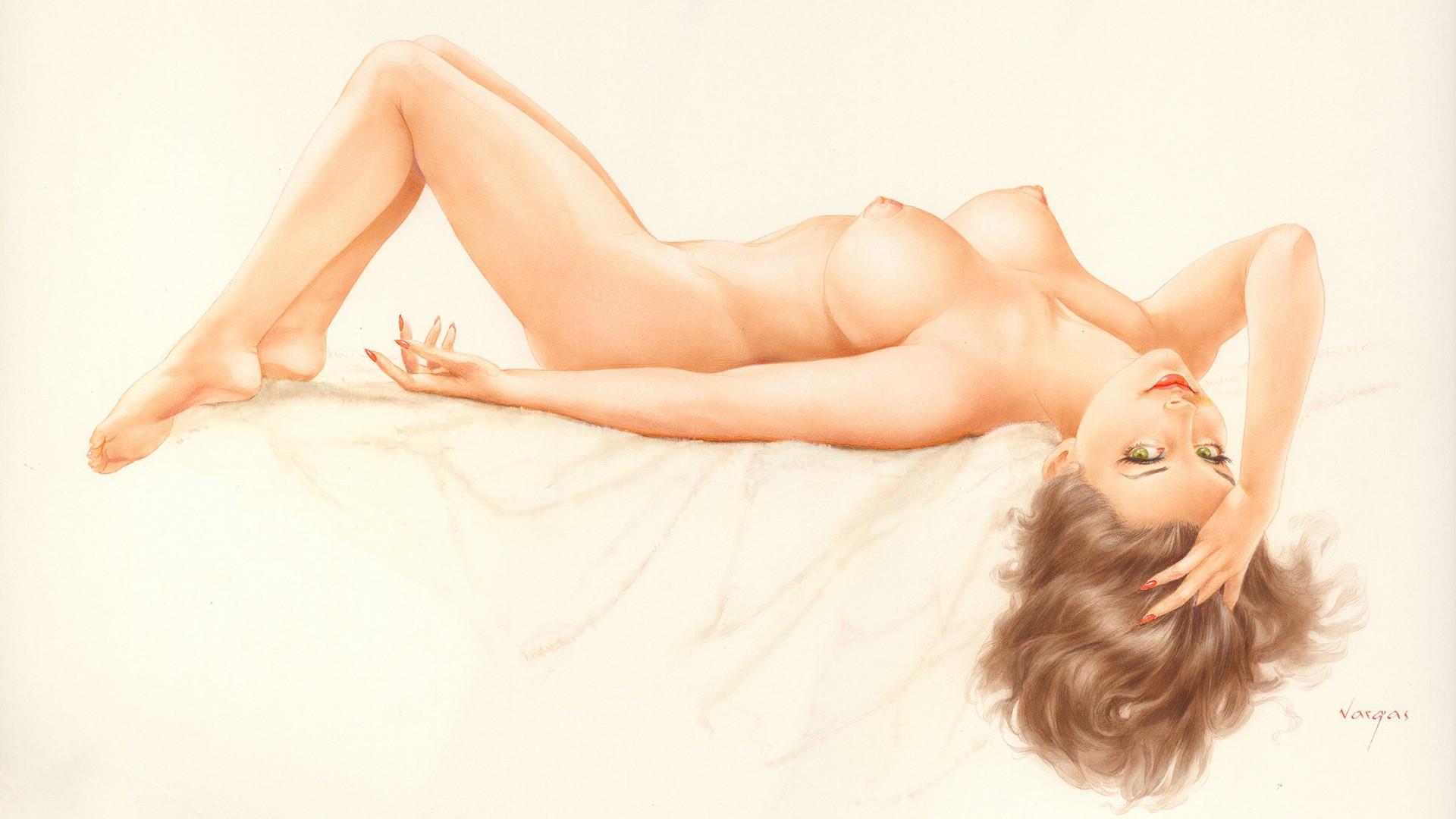Naked Pinup Wallpaper 5686-1978