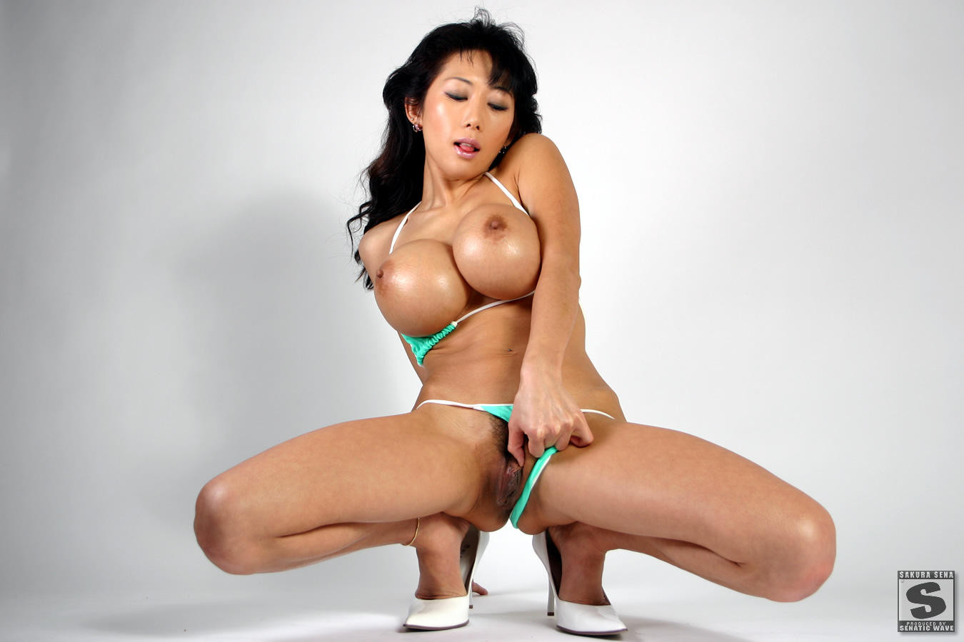 Nude Asian Bolt Ons