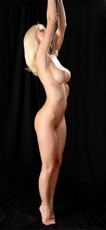 Hanging Blonde 5