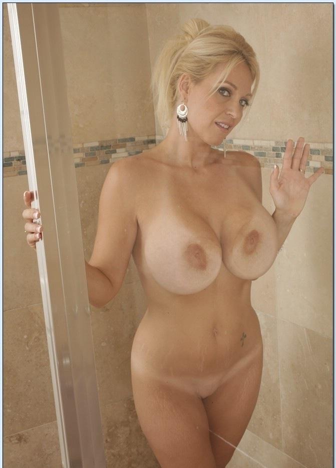 Milf mom shower rather