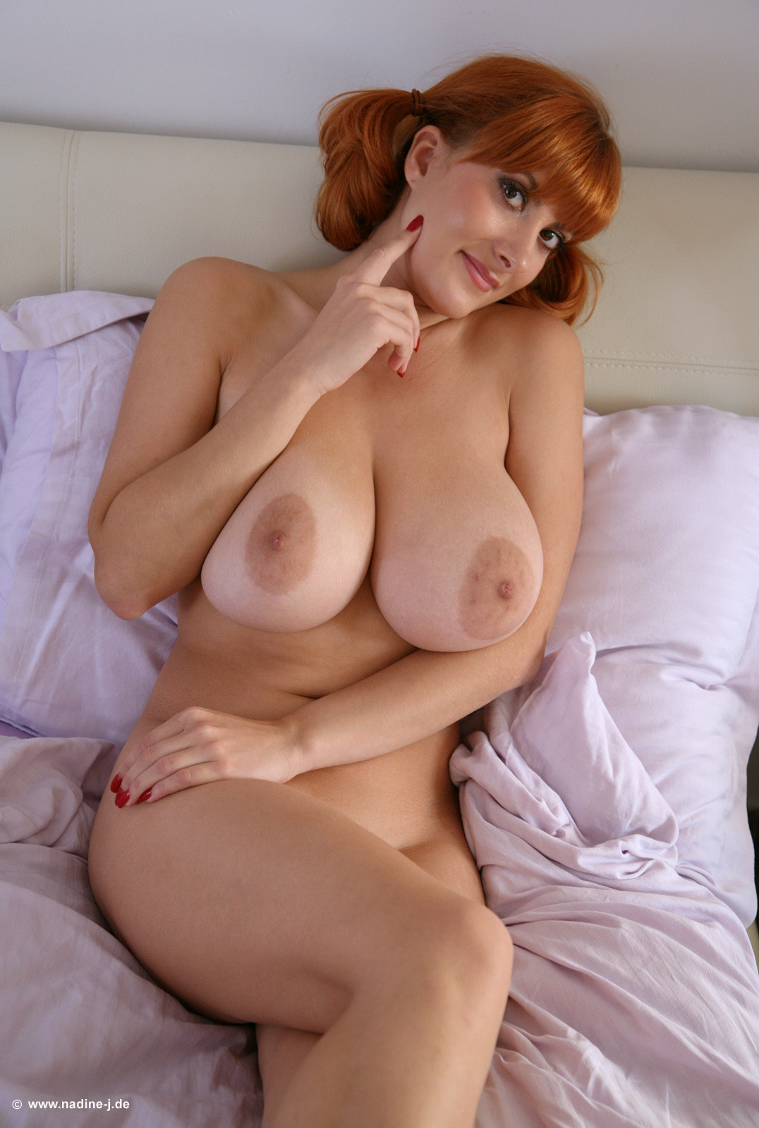 Busty young redheaded women nude