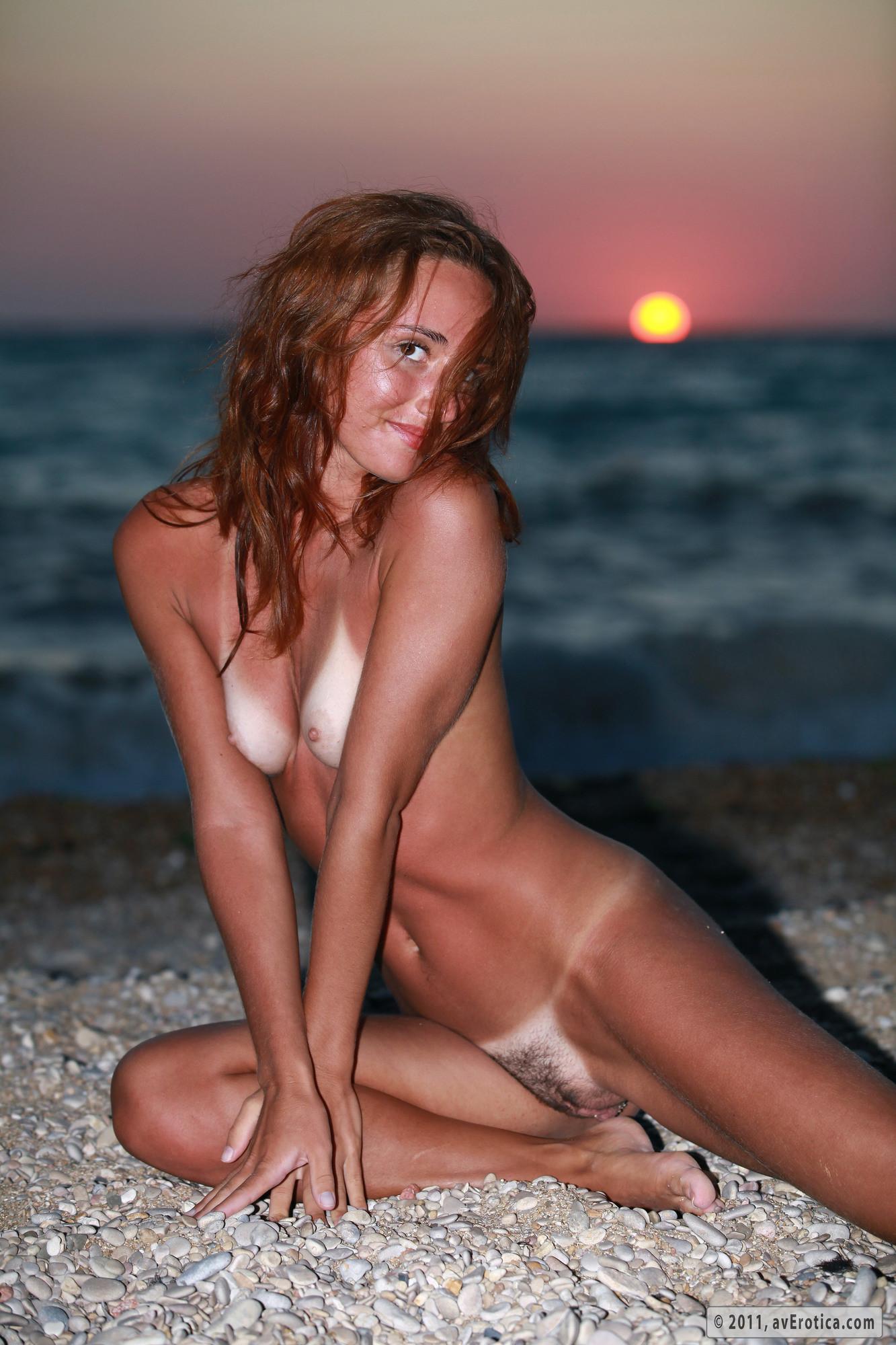 Nudes On Beach