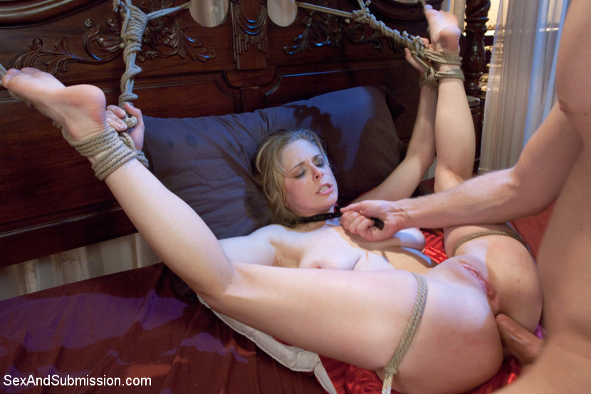 fucked Naked and girl tied