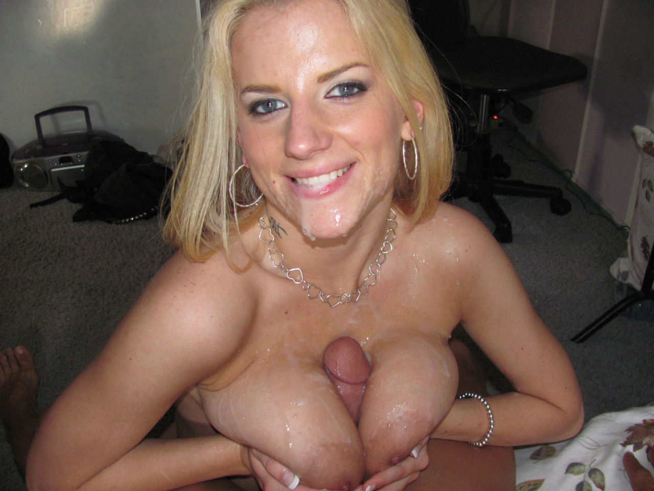 image Titfuck and creampie for buxom czech sirale