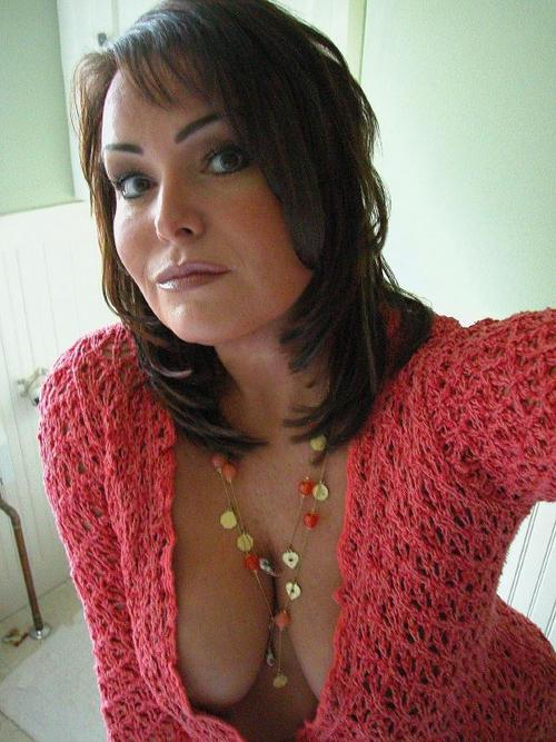 Hot Cougar Taking A Selfie 13301-8465