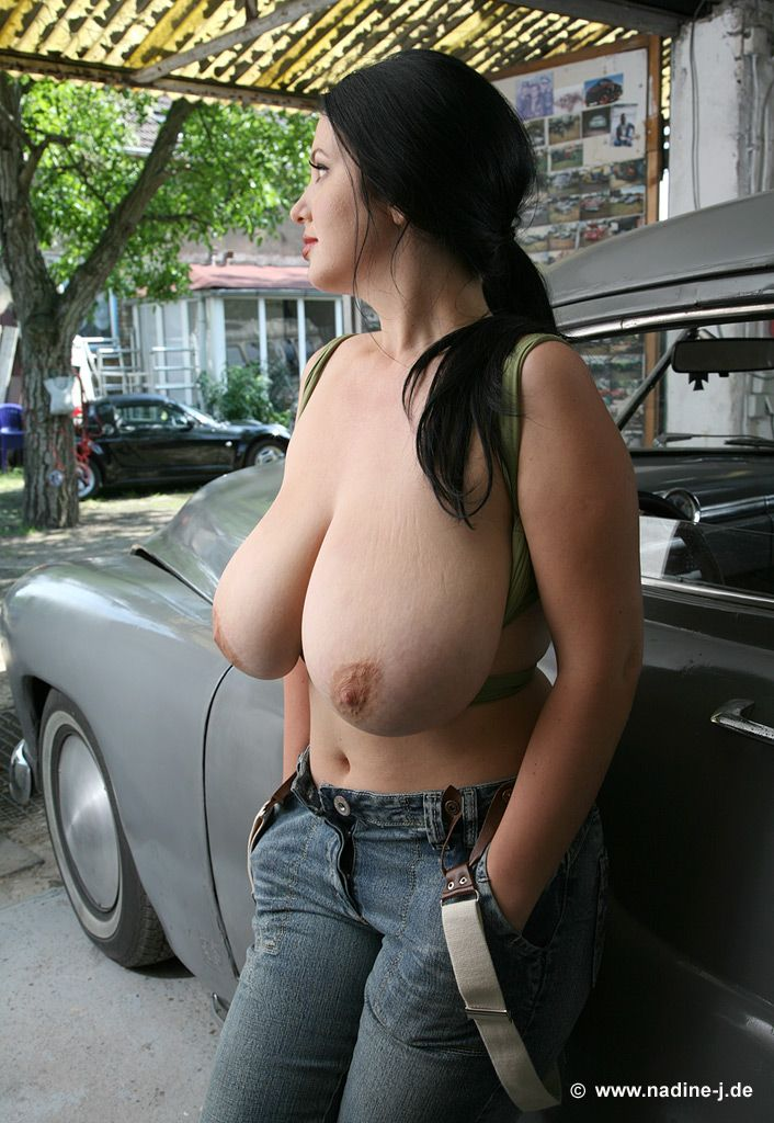 Joanna Bliss Gets Topless In Public 10793-3038