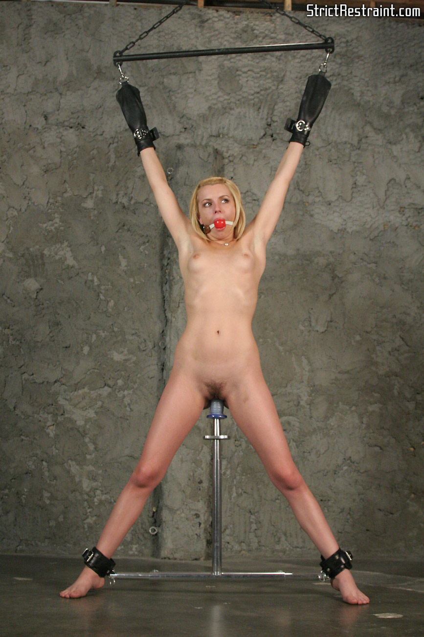 Bondage and dildo