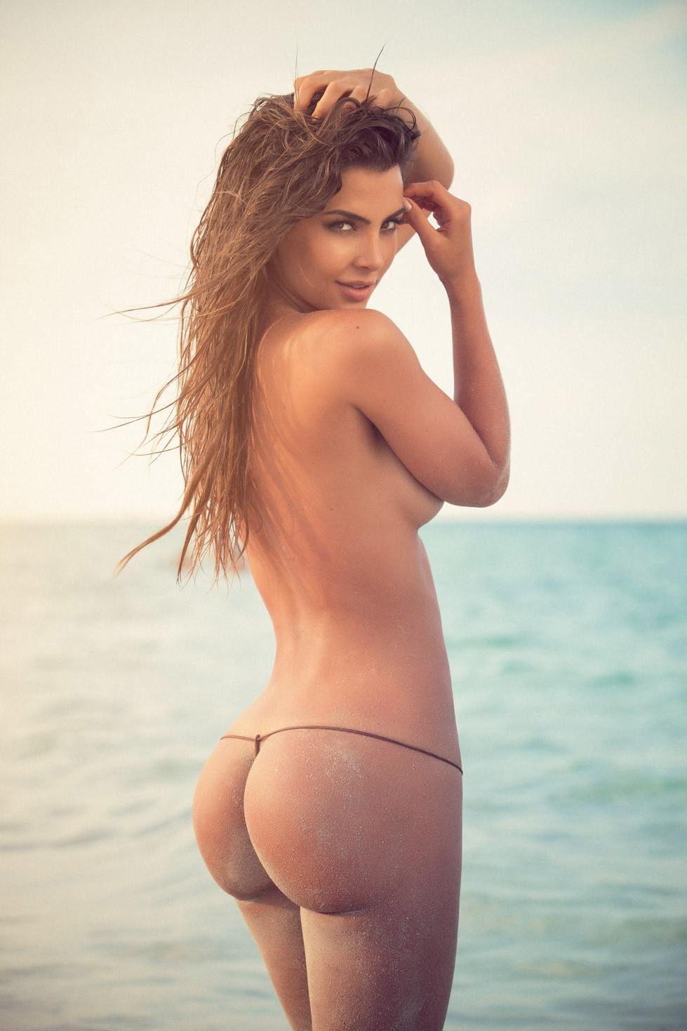 Barbara bermuda butt naked