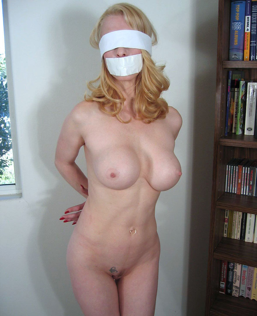 naked girls tied blindfolded