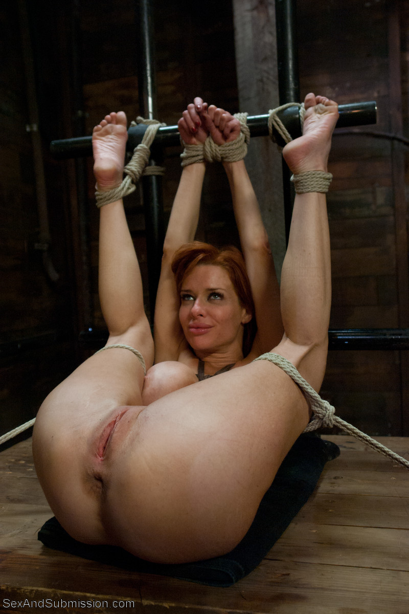 hogtied nude